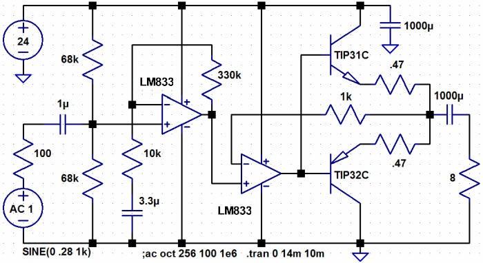 High Fidelity Audio Amplifier